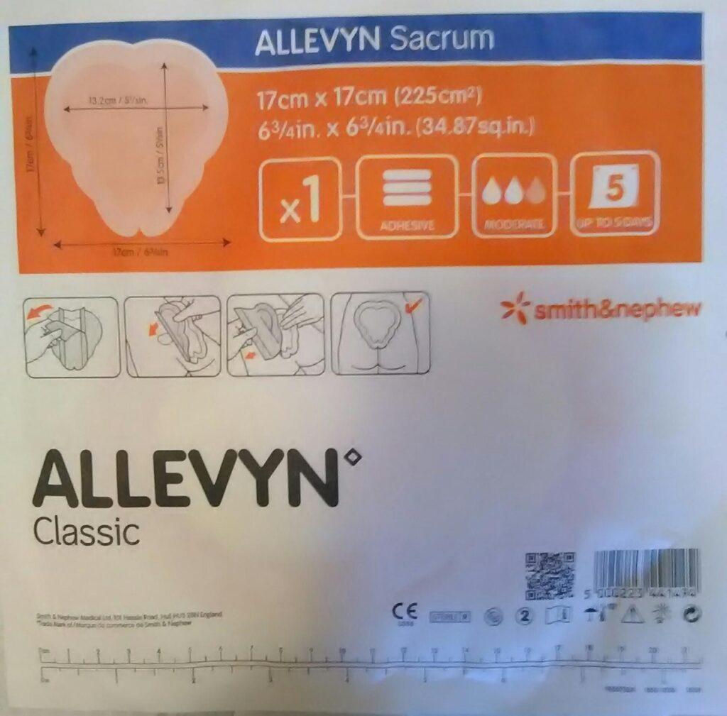 Aposito Allevyn Sacrum 17cm x 17 cm