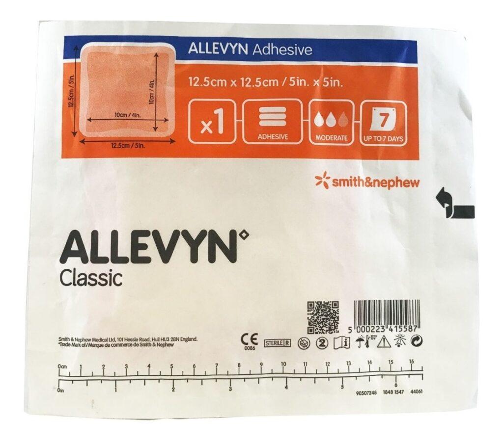 Allevyn Classic Adhesive 12,5 cm x 12,5 cm